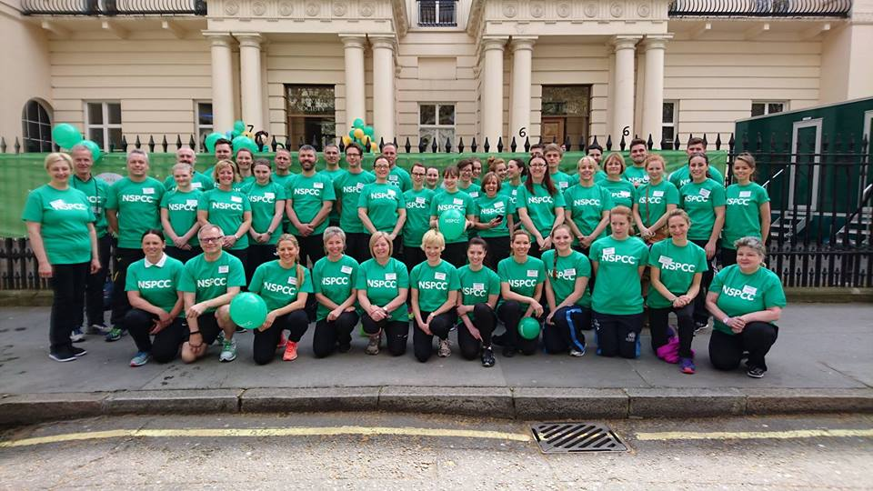 Group Picture Of London Marathon 2016